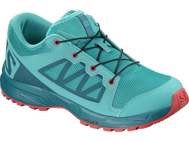 Salomon XA Elevate Shoes Kids bluebird/deep lagoon/dubarry
